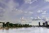 (der-kruemel) Tags: sky cloud canon river eos frankfurt main himmel wolken 24mm brücke fluss westhafen frankfurtammain mainufer gerippte 70d canoneos70d canon24mmf28stm canonefs24mm128stm