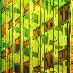 In Dreams (Paul Brouns) Tags: en reflection netherlands glass architecture modern square paul rainbow dream arc surreal ciel squareformat colored deventer brouns iphoneography instagramapp uploaded:by=instagram paulbrouns paulbrounscom