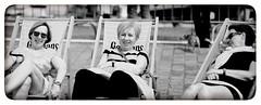 Golden Girls (Fouquier ) Tags: ladies beachchairs sunbathing liefmans