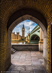 Tunnel Vision (James Neeley) Tags: westminster bigben london jamesneeley