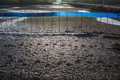 Dark steps (kailas bhopi) Tags: shadows dark crabfarm konkan aachra light farm sticks water view