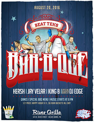 Beat Teks BBQ Poster (imjust80) Tags: dj nepa 570 wilkesbarre scranton turntablism bbq