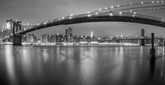 Brooklyn Bridge b/w @NYC #8 (ppausb87) Tags: brooklyn brooklynbridge newyork newyorkcity bigapple america amerika empirestate view nacht night blackandwhite blackwhite black white weitwinkel city cityscape manhattan nikon nikond5300 nikonflickraward tokina tokina1116 liebe love leidenschaft passion longexposure langzeitbelilchtung bulb bulbexposure