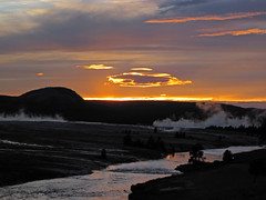 Sunset (5 July 2016) (Yellowstone, Wyoming, USA) 3 (James St. John) Tags: sunset july 2016 excelsior group midway geyser basin yellowstone wyoming