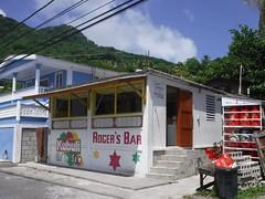 Roger's Bar (lulun & kame) Tags: america dominica scottshead