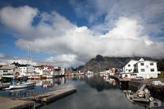 Henningsvr havn (Runar Eilertsen) Tags: henningsvr lofoten nordnorge northernnorway norge norway harbour havn summer sommer