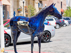 Painted Horses of Ogden Utah (Puffer Photography) Tags: horse utah statues ogden 2016
