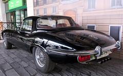 Jaguar E-Type XKE V12 Roadster 1973 (RL GNZLZ) Tags: jaguar etype jaguarxke v12 jaguarroadster 1973 48
