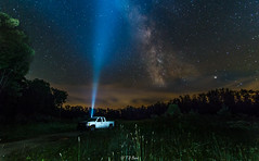 Searching for the Milky Way (Tim from Pgh) Tags: longexposure nightphotography lightpainting stars pennsylvania torch astrophotography flashlight milkyway kanepa mckeancounty galacticcenter pawilds starphotography northernpennsylvania pentaxk30
