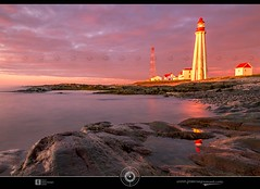 Pointe-au-Pre Lighthouse DRI (jean271972) Tags: longexposure sunset cloud lighthouse canada reflection building water eau quebec nuage phare dri costal couchdesoleil expositionlongue digitalblending pixelistes jean271972