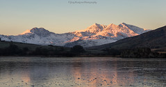 Snowdon sunrise (Joey Hodgson *lost everything, now re-uploading*) Tags: capelcurig wales unitedkingdom gb uk snowdonia snowdon snow light goldenhour sunrise cold frozen mountains sony photography joeyhodgsonphotography landscape landscapephotography
