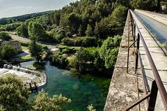 La Sorgue, vue du pont-acqueduc de Galas (daniel.gandon) Tags: provence aqueduc