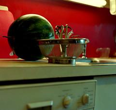 kitchen / mamiya c220 (bluebird87) Tags: mamiya c220 dx0 c41 epson v600 film kodak ektar 100 kitchen watermellon
