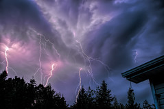 July 18 Severe TS (StarRider1300) Tags: nature weather clouds thunderstorm lightning mothernature severe forceofnature