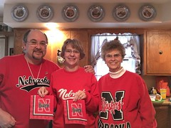 """Go Big Red"" 2015 Bowl Game gear 3 (cannellfan) Tags: me beckywurmclark judyclark huskers"