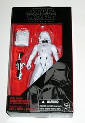 star wars the black series 6 inch action figures 2015 2016 red packaging the force awakens #12 first order snowtrooper the force awakens misb a (tjparkside) Tags: first order snowtrooper 12 star wars black series tbs 6 six inch action figure figures ep episode 7 vii seven force awakens tfa red packaging backpack blaster rifle weapon gun removable skirt helmet belt 2015 1st