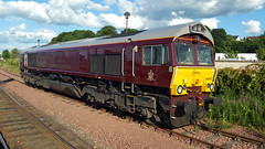 66743 Inverness (Roddy26042) Tags: inverness class66 66743