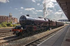 6201 (Geoff Griffiths Doncaster) Tags: 6201 46201 stanier princess elizabeth derby butterley test run 17 august steam loco locomotive engine british lms uk