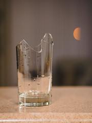 Let us drink, to our health. (Vincent-F-Tsai) Tags: glass broken cup olympusmzuiko45mmf18 panasonic lumixg7 sarcasm