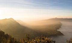 Sunrise & a sea of cloud - East Java ('Barnaby') Tags: travelling olympus barnabyrobson em5 asia east eastjava travel wwwbarnabyrobsonorg malang omd indonesia southeastasia bromo
