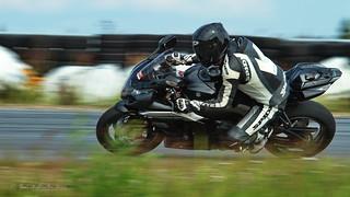 Suzuki GSXR 1000 on the race track