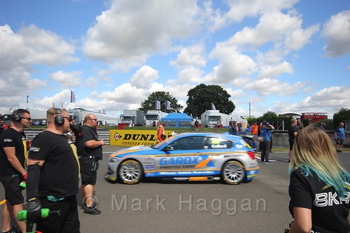Rob Collard's car during the Grid Walks at the BTCC 2016 Weekend at Snetterton