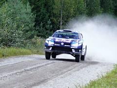 Ogier / Ingrassia - VW Polo WRC - SS9 Mokkipera 2 - Rally Finland 2016 (74Mex) Tags: ss8 mokkipera 2 rally finland 2016 ogier ingrassia vw polo wrc ss9