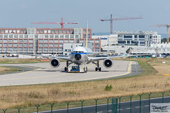 Condor Flugdienst Boeing 767-31B(ER)(WL) D-ABUM Achim (714601) (Thomas Becker) Tags: condor flugdienst cfg boeing b767 767 31b b763 dabum achim cn 25170 ln 542 170594 chinasouthernairlines b2566 eurofly eicrf alitalia ilfc goldhofer ast1 towbarless tow tug pushback fraport flughafen airport aeroport aeropuerto aeroporto fra eddf frankfurt plane spotting aircraft airplane avion aeroplano aereo  vliegtuig aviao  samolot flugzeug germany deutschland hessen rheinmain nikon d7200 nikkor 80400g dx raw gps aviationphoto cthomasbecker 160817 taxiing geotagged geo:lat=50039523 geo:lon=8596970 aerotagged aero:airline=cfg aero:man=boeing aero:model=767 aero:series=300 aero:special=er aero:tail=dabum aero:airport=eddf
