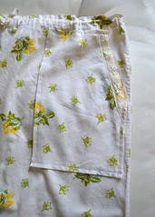 Skirt Redo Now w Pockets (eppujensen) Tags: eppujensen 2016august everydaylife wearables skirts cotton handmade sewing crafts crafting redo altering pockets lace