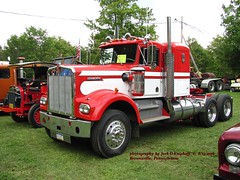 1979 KW, 8-13-2016 (jackdk) Tags: truck semi semitruck tractor tractotrailer kw kenworth w900 w900a truckshow 1979kw 1979kenworth nationalpikesteamshow nationalpike antique classictruck bigtruck