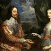 Charles I and Henrietta Maria Holding a Laurel Wreath