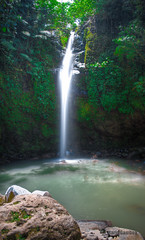 Busay Falls (MrGumby13) Tags: longexposure trees light people green water leaves forest wow landscape photography waterfall rocks long exposure stones awesome philippines falls legendary colored bicol epic shrubs albay busay