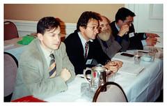 1990 Vancouver (CAN) - Convegno internazionale di annunci economici FAPIA. R. Amadori, S. Sangermano, J. Bradi e C. Serafini