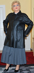 Ingrid019612 (ingrid_bach61) Tags: skirt mature button femdom pleated governess faltenrock durchgeknpft