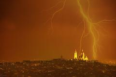 Sacré Coeur, Paris (german_long) Tags: storm paris france francia parís