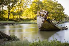 Vieux bateau (slegars) Tags: boat bateau paysage lebono cimetiredebateaux ansedegovillo
