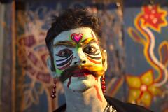 Charak puja (Shudipto) Tags: portrait face festival painting ritual ttl bangladesh puja dhamrai charak