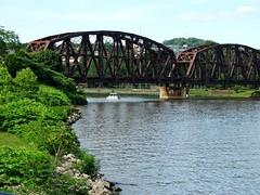 The Bridges of Beaver County (e r j k . a m e r j k a) Tags: railroad bridge pennsylvania landmark beaver rochester explore bridgewater monaca pa18 upperohiovalley pa65 pa68 pa51 erjkprunczyk i376pa