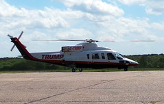 Sikorsky S76B (Liam Salt) Tags: aircraft donald helicopter trump sikorsky s76 fairoaks s76b