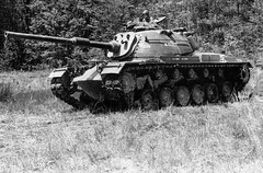 M48A4 (М48А1Е3)<br />Experienced with the M48 turret from the M60.