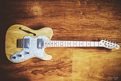 Fender 72 Thinline Telecaster (MIJ) (Daniel Y. Go) Tags: fender fuji fujixpro2 philippines telecaster xpro2 guitar music thinline