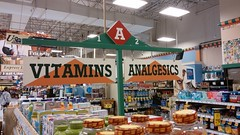 Vitamins and Analgesics from the turn of the Millennium (Retail Retell) Tags: kroger grocery store hernando ms retail desoto county millennium décor 475