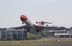 EGLF - Boeing 727 - G-ORSA (lynothehammer1978) Tags: eglf farnborough far farnboroughinternationalairshow farnboroughinternationalairshow2016 gorsa boeing727 oilspillresponse