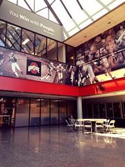 Atrium (brown_theo) Tags: atrium woody hayes athletic center whac football osu campus athletics ohio state
