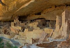 Ancient cliff dwellings in Mesa Verde National Park, Colorado (Gail K E) Tags: ancient culture nativeamerican colorado usa nikons9700 mesaverdenationalpark cliffpalace cliffdwellings indigenousamericans anasazi southwest