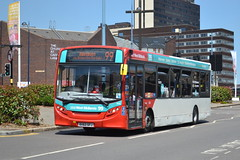 TWM AD Enviro 200 804 BX62SFJ - Birmingham (dwb transport photos) Tags: nationalexpress travelwestmidlands alexander dennis enviro bus 804 bx62sfj birmingham