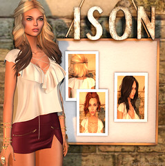 Ison Hair Fair 2016 (Sasy Scarborough ) Tags: ison hairfair2016 blueberry collabor88 slink lelutka league mandala uber cheeky pea cheekypea