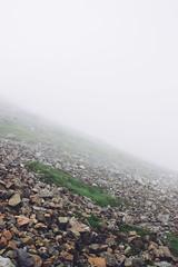 Visibility (Alex Holyoake) Tags: scotland unitedkingdom gb mountain mountainrange bennevis river hill rockface driving mirror car clouds mist