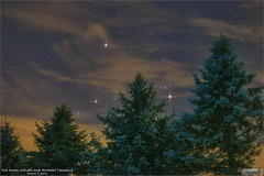Saturn, Mars and Antares on August 7, 2016 (Tom Wildoner) Tags: tomwildoner leisurelyscientistcom leisurelyscientist mars saturn antares scorpius clouds trees glow nightsky night astronomy astrophotography astronomer science space stars canon canon6d teamcanon universetoday earthsky nature environment august 2016