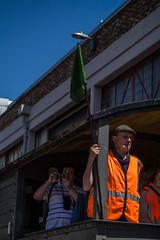 Harbourside Festival (clogette) Tags: bristol bristolharbfest bristolharbourfestival conductor harbourside train harbour festival